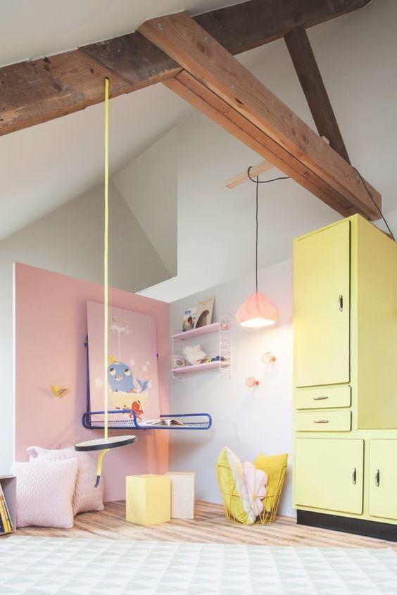 Chambre Fille Pastel