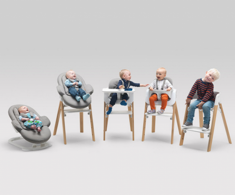 S lection de chaises hautes modernes et design club mamans - Chaise bebe qui s accroche a la table ...