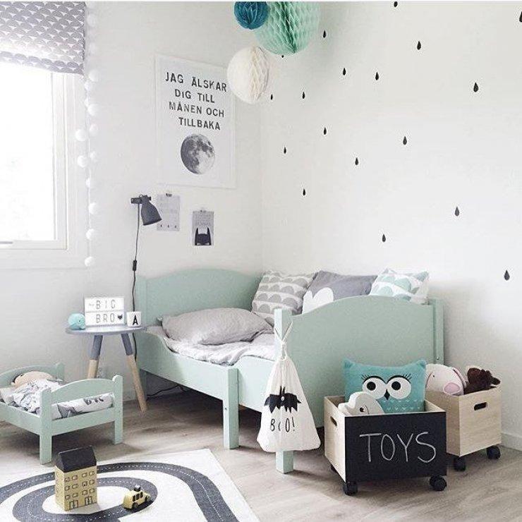 Emejing Chambre Scandinave Garcon Ideas Design Trends - Canapé convertible scandinave pour noël deco chambre enfant garcon