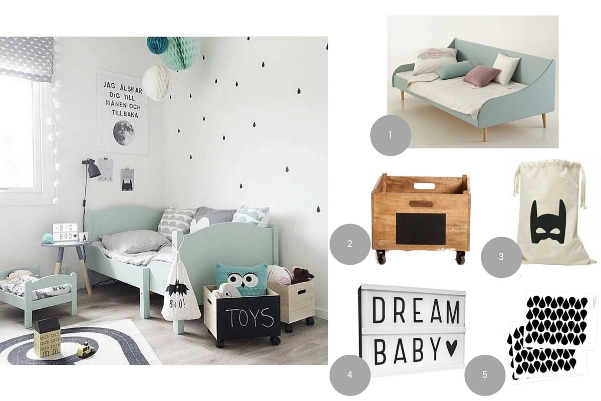 Tente Chambre Garcon dedans 10 idées déco pour une chambre d'enfant - club mamans