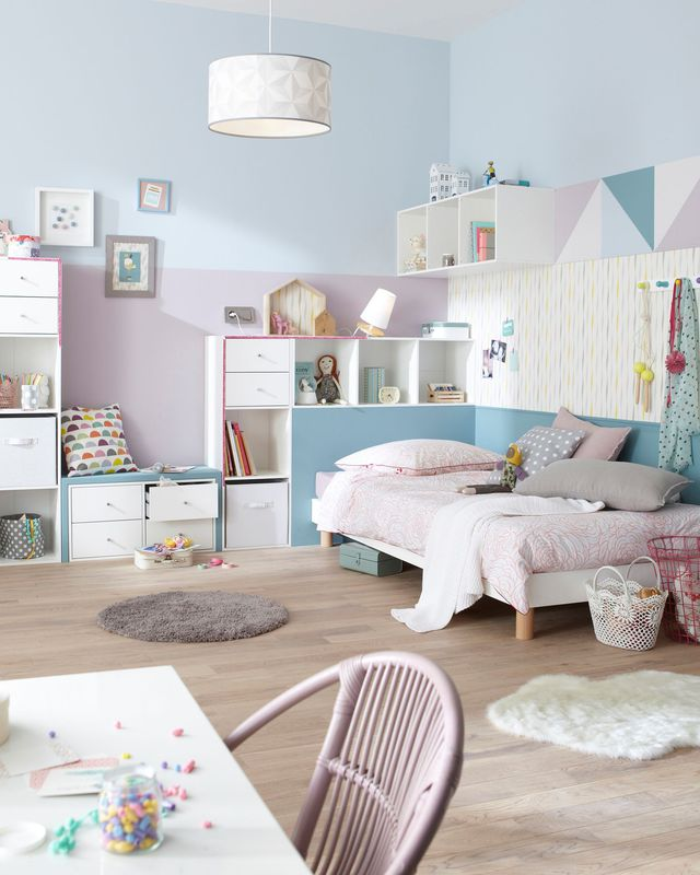10 id es de chambres pastels pour petite fille club mamans. Black Bedroom Furniture Sets. Home Design Ideas
