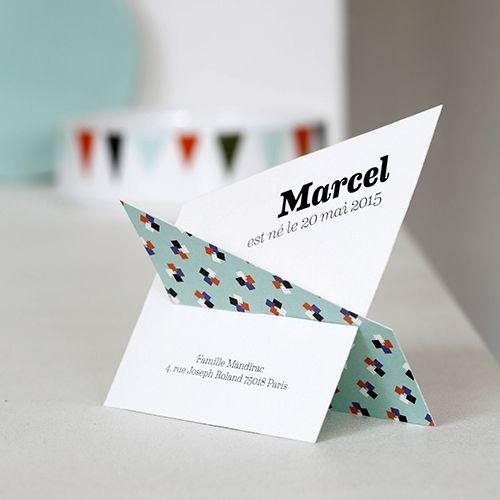 faire part naissance origami fr93 jornalagora. Black Bedroom Furniture Sets. Home Design Ideas