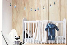 chambre bébé avec inspiration indien