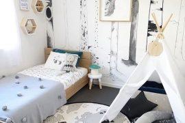 shop the room décoration chambre garçon forêt