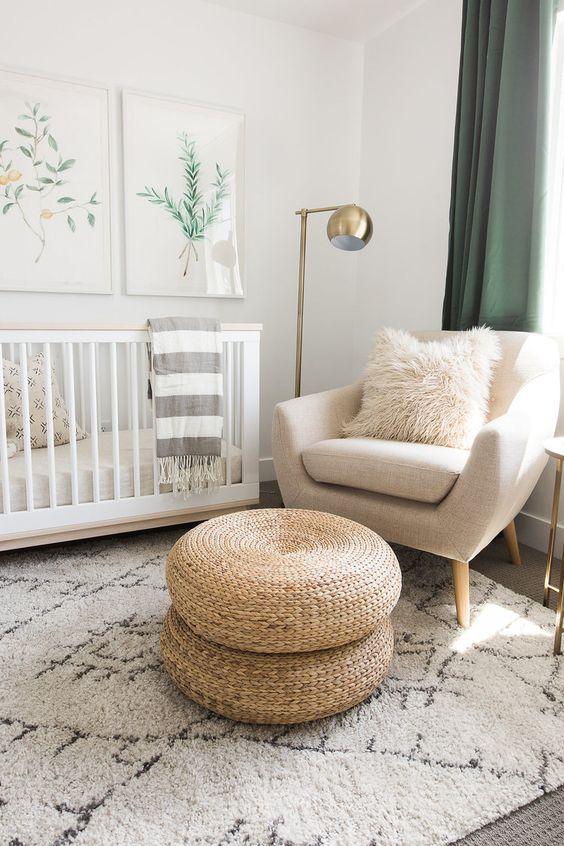 décoration chambre bébé nordique