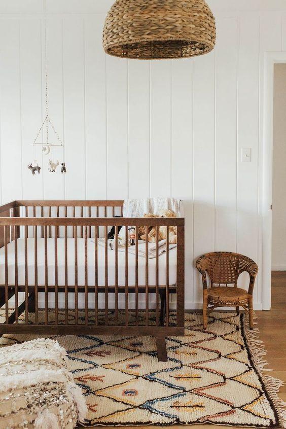 Décoration chambre bébé nature