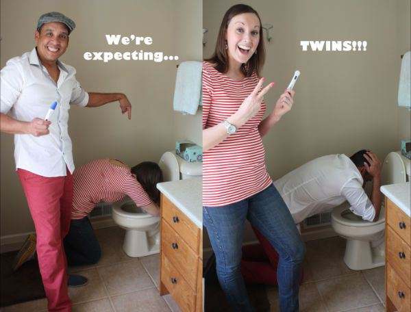 annonce grossesse jumeaux
