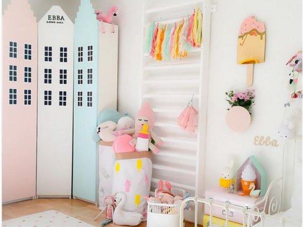 10 chambres de petites filles pastels