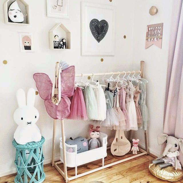 Diy Child Clothes Rack: Les 10 Plus Belles Chambres De Petites Filles Sur