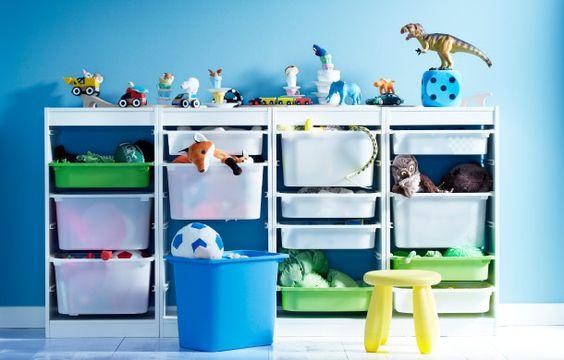 idées rangement jouets enfants