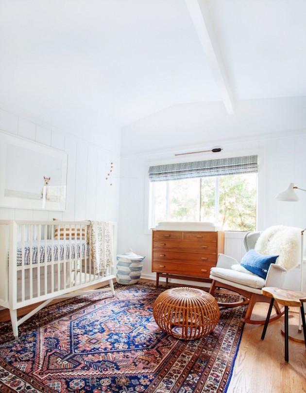 chambre vintage bébé