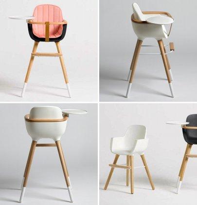 Sélection de chaises hautes modernes et design