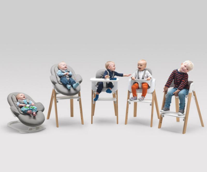 chaise haute evolutive Stokke