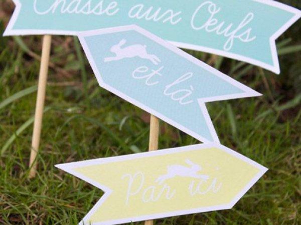 Des décorations de Pâques à imprimer gratuitement !