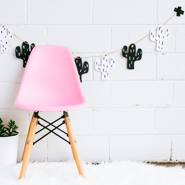 DIY guirlande cactus