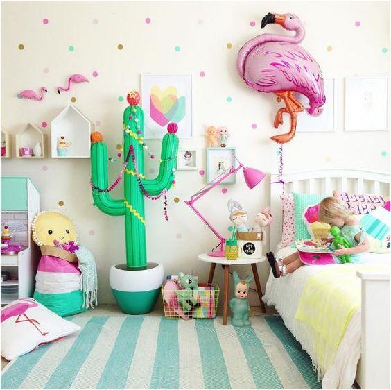 deco chambre cactus