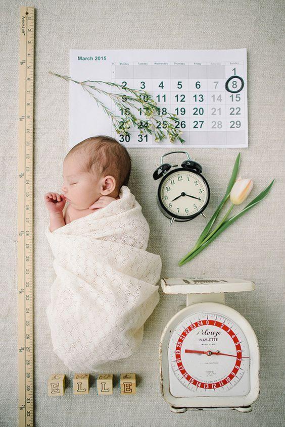 Haut Idées de faire part naissance modernes et originaux NQ15