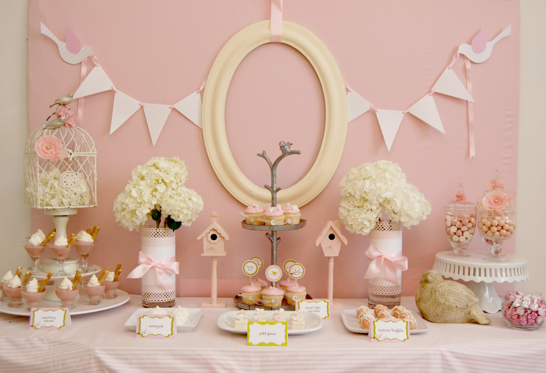 Baby Shower Fille Des Idées De Buffets De Princesses