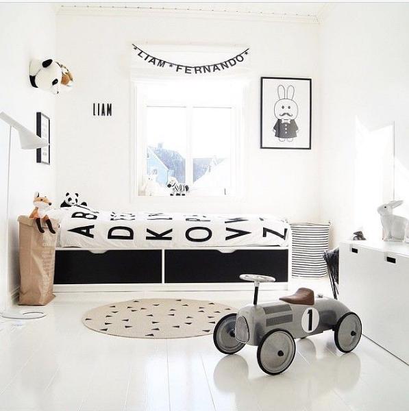 chambre garçon instagram