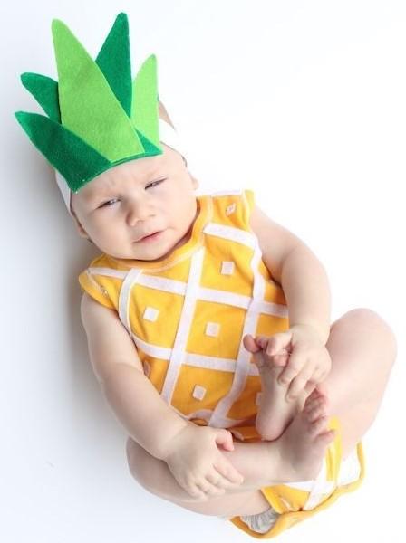iidees deco enfant ananas