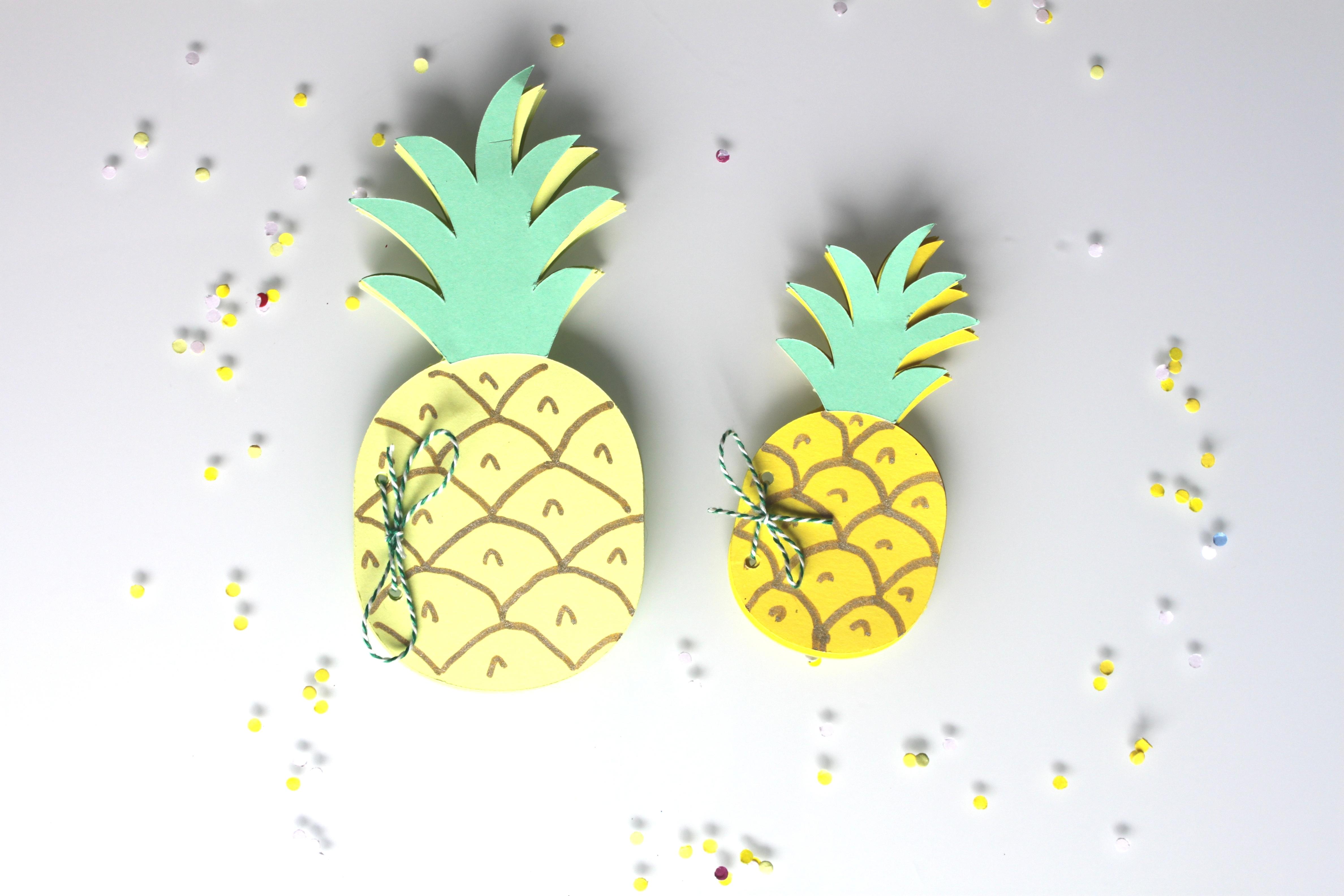 idees deco enfant ananas