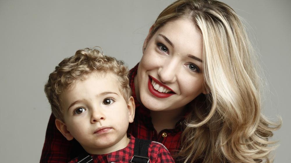 photo avec ses enfants