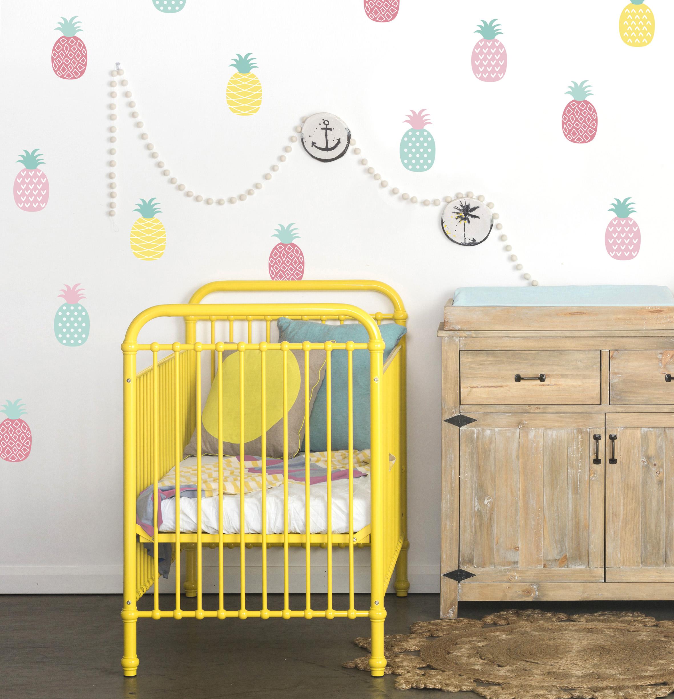 Idées déco: des ananas pour la chambre de vos enfants!