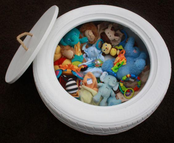 rangement original jouet enfant
