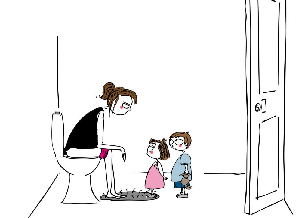 humour-pipi-maman-seule