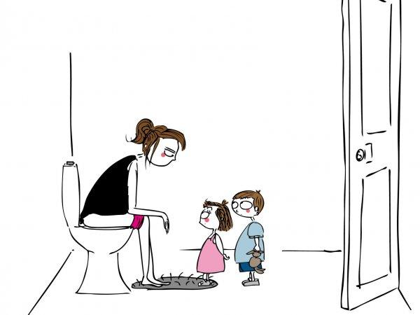 10 choses qu'on ne fait plus une fois maman