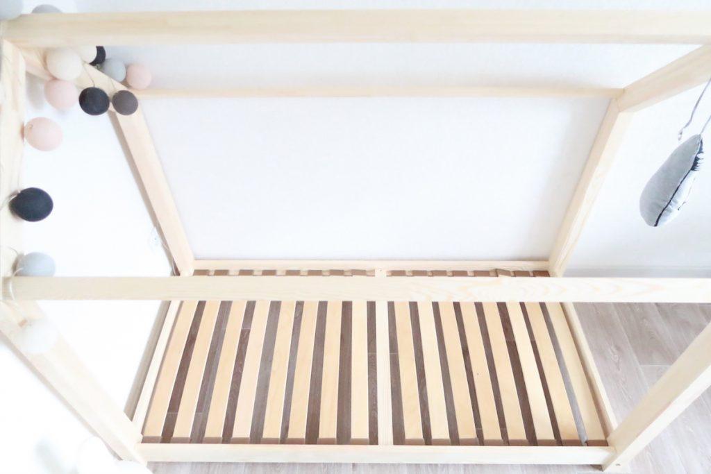 lit maison en bois pas cher