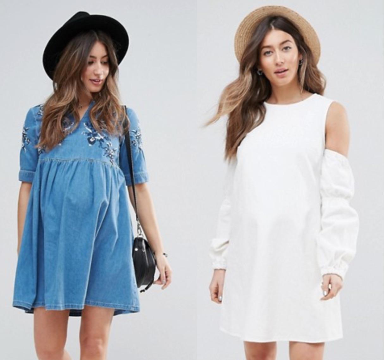 sélection de robes d'été pour femmes enceintes