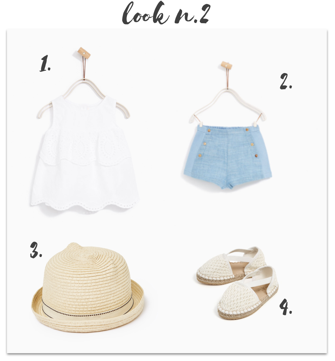 Sélection filles summer collection Zara