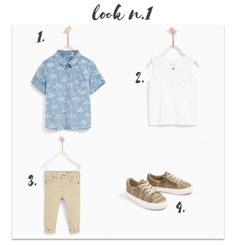 Sélection garçons Summer collection Zara