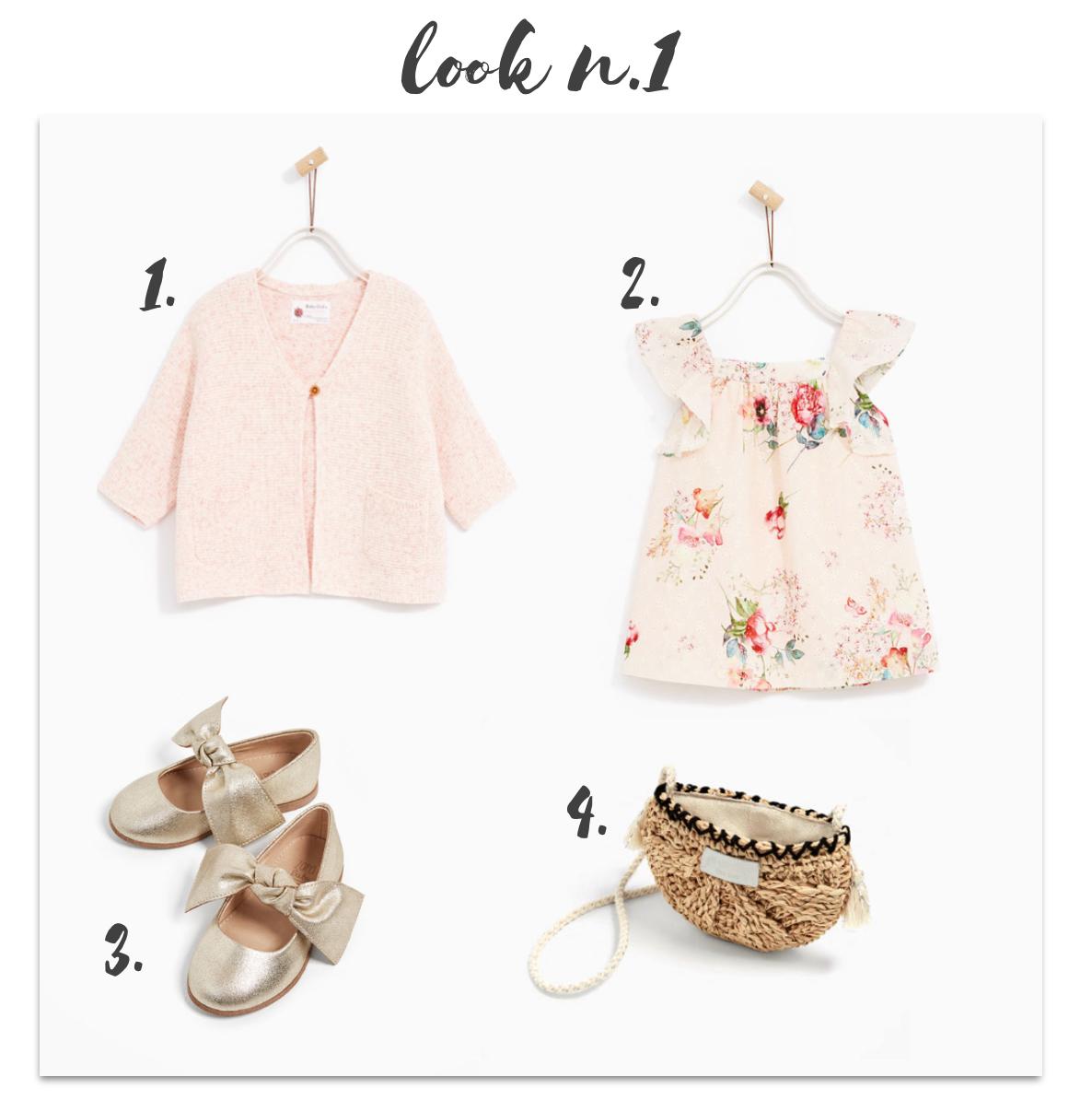 Sélection filles summer collection Zara