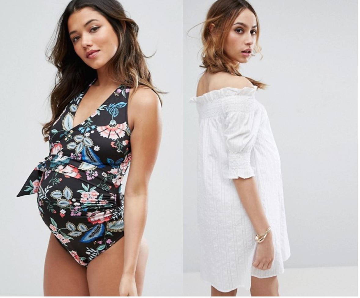 Sélection maillot de bain et tenues de plage pour futures mamans