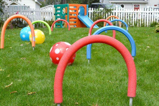 Idées de jeux d'extérieur pas chers pour les enfants
