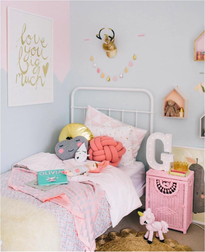 10 id es de chambres pastels pour petite fille club mamans. Black Bedroom Furniture Sets. Home Design Ideas
