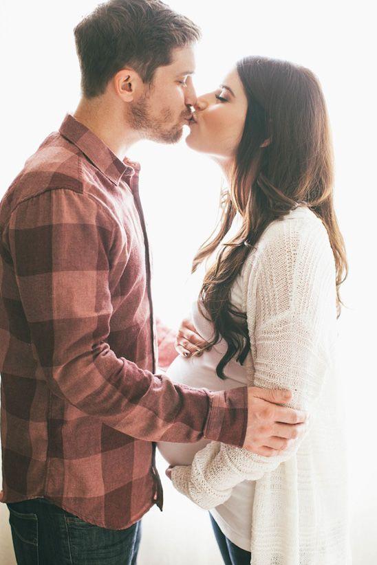 Idées photos de grossesse couple