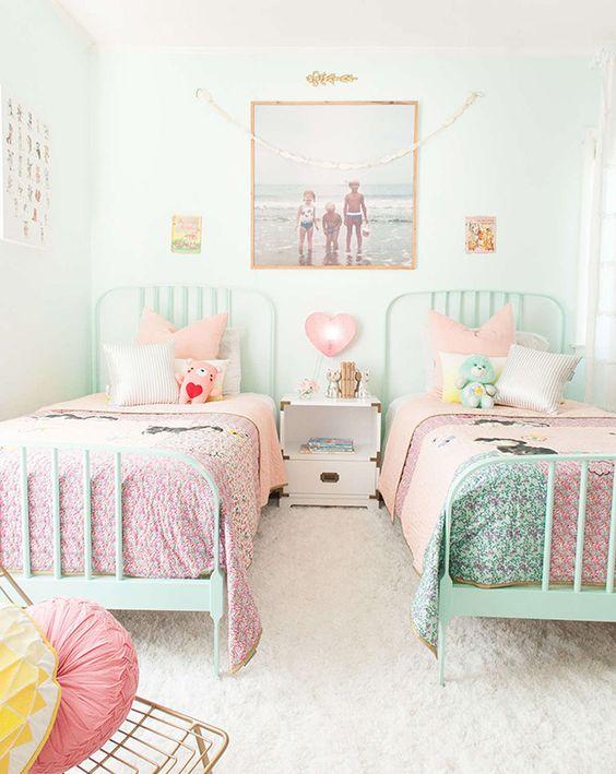 10 Idées De Chambres Pastels Pour Petite Fille Club Mamans