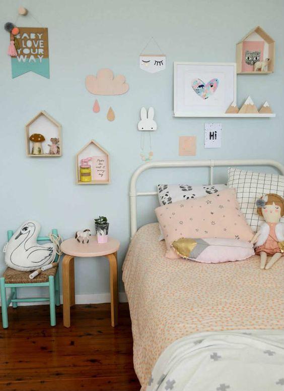 10 Idees De Chambres Pastels Pour Petite Fille Club Mamans