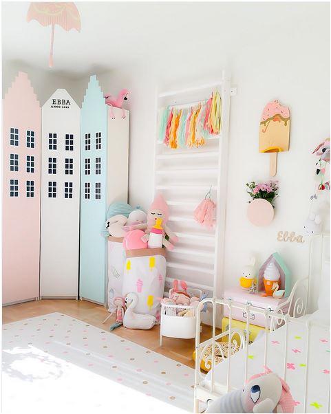 chambres pastels pour petite fille