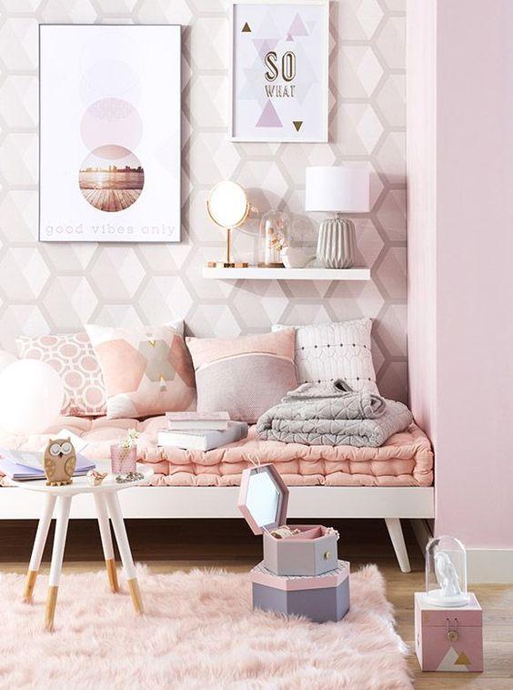 10 idées de chambres pastels pour petite fille > Club Mamans