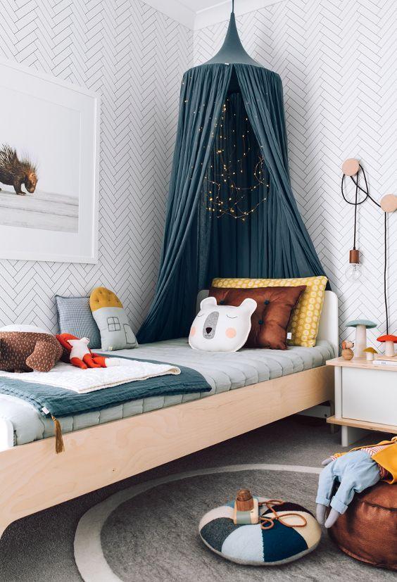 décoration chambre garçon scandinave