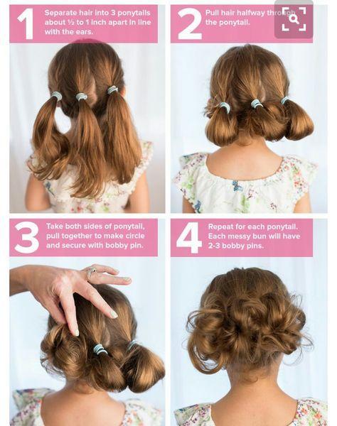 idées de coiffures faciles pour les filles pour la rentrée