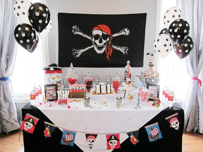 thème anniversaire garçon pirate