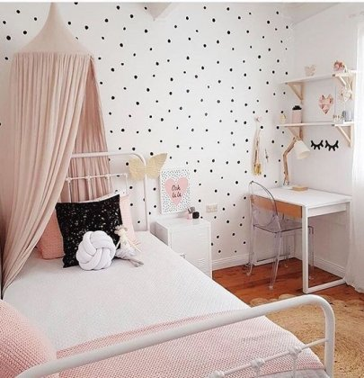 SHOP THE ROOM | Chambre fille Polka Dot