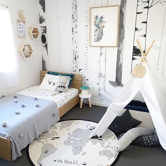 Pinterest Boys Bedroom Ideas: Décoration Chambre Garçon Forêt ⋆ Club Mamans
