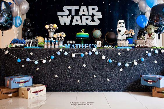 thème anniversaire garçon star wars
