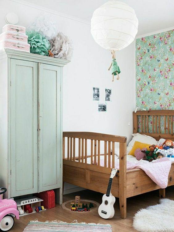 chambres vintages pour enfants